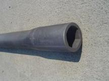 Carbon Steel Auger Tuber Forgings from KDK